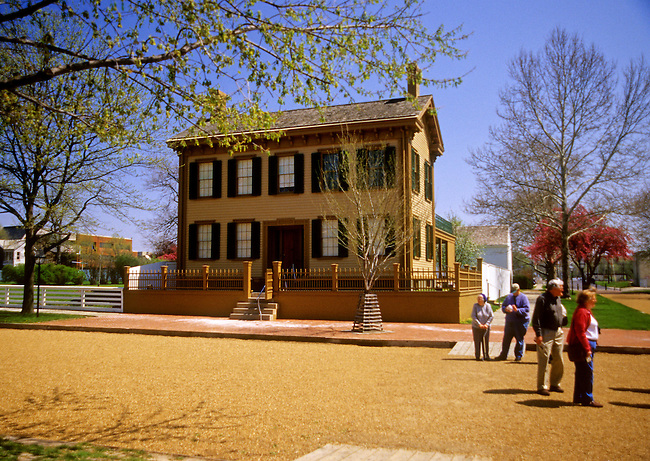Lincoln's Home, in Lincoln's Home National Historic Site in Springfield, Illinois