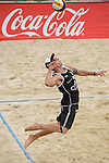 30.05.2015, Moskau, Vodny Stadion<br /> Moskau Grand Slam, Main Draw / Viertelfinale<br /> <br /> Aufschlag / Service Alexander Horst (#2 AUT)<br /> <br />   Foto &copy; nordphoto / Kurth