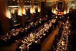 Fishmongers Hall the City of London Livery Company.  Worshipful Company of Fishmongers hold a  banquet for the fish trade  1992 1990s.