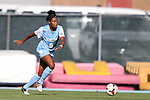 30 August 2013: North Carolina's Amber Munerlyn. The University of North Carolina Tar Heels hosted the University of New Mexico Lobos at Fetzer Field in Chapel Hill, NC in a 2013 NCAA Division I Women's Soccer match. UNC won the game 2-1.
