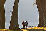 A couple walking at Susquehanna State Park, Williamsport, PA