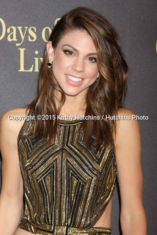 LOS ANGELES - NOV 7:  Kate Mansi at the Days of Our Lives 50th Anniversary Party at the Hollywood Palladium on November 7, 2015 in Los Angeles, CA