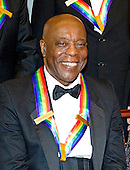 Buddy Guy, one of the seven recipients of the 2012 Kennedy Center Honors, poses for a photo following a dinner hosted by United States Secretary of State Hillary Rodham Clinton at the U.S. Department of State in Washington, D.C. on Saturday, December 1, 2012.  The 2012 honorees are Buddy Guy, actor Dustin Hoffman, late-night host David Letterman, dancer Natalia Makarova, and the British rock band Led Zeppelin (Robert Plant, Jimmy Page, and John Paul Jones)..Credit: Ron Sachs / CNP