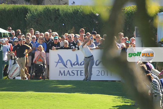 Martin Kaymer (GER) during the 2nd day at the  Andalucía Masters at Club de Golf Valderrama, Sotogrande, Spain. .Picture Fran Caffrey www.golffile.ie