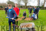 Students from CBS The Green planted eighteen trees as part of an orchard project in Tralee Town Park on Thursday. Pictured were: Jordan Foley, Brian Murphy, Niamh Ní Dhúill (Transition Kerry), Shane Kelliher, Marcus Nolan, Dylan Burns and Mark Ryle.