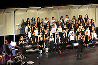 The Harker School - SW - Schoolwide - Harker's Performing Arts Choir students in the LS, MS, and US unite as one Choral Concert at San Jose 's Mexican Heritage Theatre...Photo by Megan Prakash, grade 10