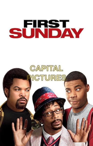 POSTER ART.in First Sunday.CAP/AW.Supplied By Capital Pictures.