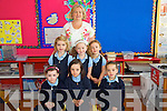 Clogher National school had Six  new students in Junior Infants on Monday Pictured Here with Teacher Sinead Murphy  were Alannah Doody, Ava Begley, Fiona Mccarthy, Grace Kelly, Sophie Harper, Sorcha Healy