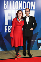 Clare Stewasrt<br /> arriving for the 2017 London Film Festival Awards at Banqueting House, London<br /> <br /> <br /> ©Ash Knotek  D3336  14/10/2017
