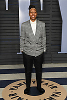 04 March 2018 - Los Angeles, California - Lena Waithe. 2018 Vanity Fair Oscar Party hosted following the 90th Academy Awards held at the Wallis Annenberg Center for the Performing Arts. <br /> CAP/ADM/BT<br /> &copy;BT/ADM/Capital Pictures