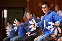 Inu-Yupiaq Dancers perform native dance at the 2009 Festival of Native Arts, Fairbanks, Alaska. The festival is one of interior Alaska's greatest celebrations of Alaska Native culture.