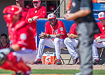 28 February 2016: Washington Nationals Manager Dusty Baker watches play during an inter-squad pre-season Spring Training game at Space Coast Stadium in Viera, Florida. Mandatory Credit: Ed Wolfstein Photo *** RAW (NEF) Image File Available ***