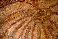 Europe/Europe/France/Midi-Pyrénées/46/Lot/Cahors: Cathédrale Saint-Etienne - Coupole sur pendentif détail des fresques