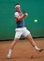 August 12, 2014, Netherlands, Raalte, TV Ramele, Tennis, National Championships, NRTK,  Stijn de Gier (NED)<br /> Photo: Tennisimages/Henk Koster