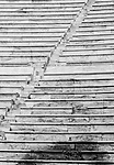 Steps of the Panathenaic stadium in Athens, Greece