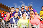 Front row from left: Catherine Costello, Fiona Tobin, Claire Tobin, Back row from left Fiona Griffin, Ann Shanahan, Anne Marie O'Hara, Claire Tobin and Michele King<br /> pictured at the Rose of Tralee International 10k Race in Tralee on Sunday.