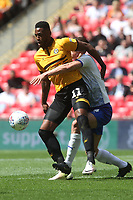 Jamille Matt of Newport County in action during Newport County vs Tranmere Rovers, Sky Bet EFL League 2 Play-Off Final Football at Wembley Stadium on 25th May 2019