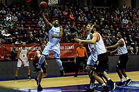 GRONINGEN - Basketbal, Donar - Feyenoord, Eredivisie, seizoen 2019-2020, 10-11-2019, score Donar speler Carrington Love