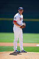 Buffalo Bisons pitcher Matt Boyd (32) gets ready to deliver a pitch during a game against the Columbus Clippers on July 19, 2015 at Coca-Cola Field in Buffalo, New York.  Buffalo defeated Columbus 4-3 in twelve innings.  (Mike Janes/Four Seam Images)