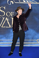 LONDON, UK. November 13, 2018: Jude Law at the &quot;Fantastic Beasts: The Crimes of Grindelwald&quot; premiere, Leicester Square, London.<br /> Picture: Steve Vas/Featureflash