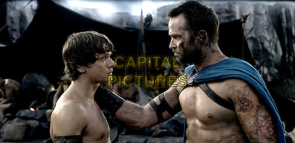 Jack O'Connell, Sullivan Stapleton<br /> in 300: Rise of an Empire (2014) <br /> *Filmstill - Editorial Use Only*<br /> CAP/NFS<br /> Image supplied by Capital Pictures