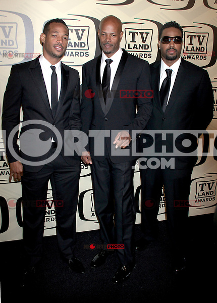 April 14, 2012 Marlon Wayans, Keenen Ivory Wayans and Shawn Wayans attends the 10th Anniversary of TV Land Awards  at the Lexington Avenue Armory in New York City..Credit:RWMediapunchinc.com