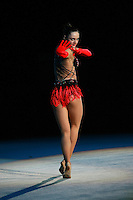 "Anna Bessonva of Ukraine performs gala exhibition routine at 2007 World Cup Kiev, ""Deriugina Cup"" in Kiev, Ukraine on March 16, 2007."