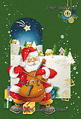 Marcello, CHRISTMAS SANTA, SNOWMAN, WEIHNACHTSMÄNNER, SCHNEEMÄNNER, PAPÁ NOEL, MUÑECOS DE NIEVE, paintings+++++,ITMCXM1157M,#x#