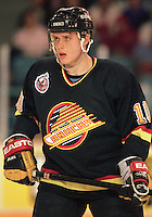 Pavel Bure Vancouver Canucks 1993. Photo F. Scott Grant