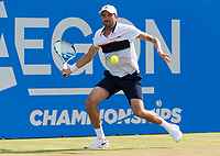 JULIEN BENNETEAU (FRA)<br /> <br /> TENNIS - AEGON CHAMPIONSHIPS - QUEEN'S CLUB - ATP - 500 - BARON'S COURT, LONDON, GB - 2017  <br /> <br /> <br /> &copy; TENNIS PHOTO NETWORK