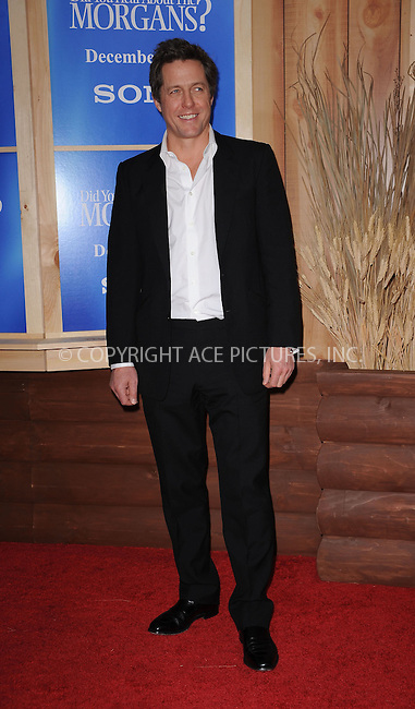 WWW.ACEPIXS.COM . . . . . ....December 14 2009, New York City....Actor Hugh Grant arriving at the Premiere of 'Did you here about the Morgans?' at the Ziegfeld Theatre on December 14 2009 in New York City....Please byline: KRISTIN CALLAHAN - ACEPIXS.COM.. . . . . . ..Ace Pictures, Inc:  ..(212) 243-8787 or (646) 679 0430..e-mail: picturedesk@acepixs.com..web: http://www.acepixs.com