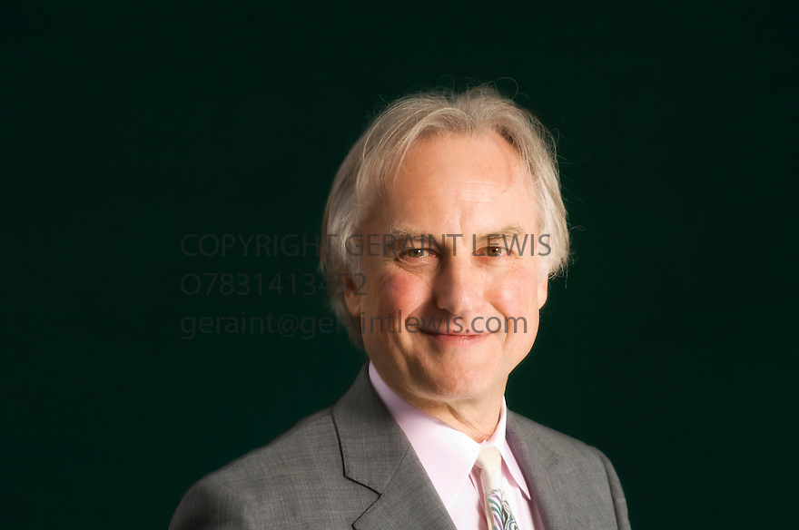 Richard Dawkins ,evoltionist  and writer at The Edinburgh International Book Festival 2008 . CREDIT Geraint Lewis