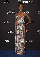 "HOLLYWOOD, CA - MARCH 25:  Ashleigh Murray at PaleyFest 2018 - ""Riverdale"" at the Dolby Theatre on March 25, 2018 in Hollywood, California. (Photo by Scott KirklandPictureGroup)"