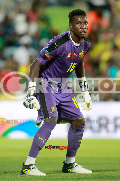 Cameroon's Andre Onana during international friendly match. June 13,2017.(ALTERPHOTOS/Acero) (NortePhoto.com) (NortePhoto.com)