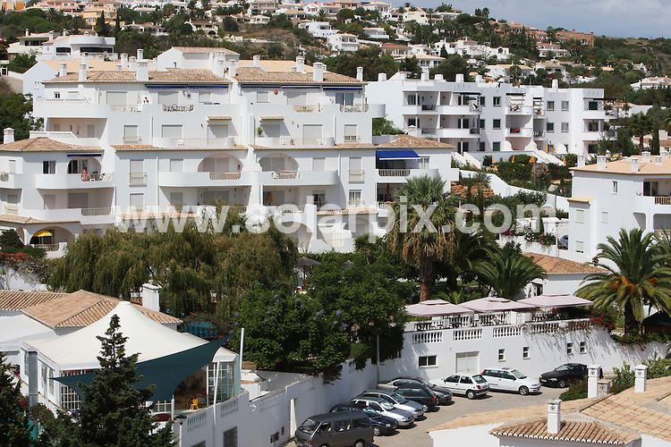 **ALL ROUND PICTURES FROM SOLARPIX.COM**.**WORLDWIDE SYNDICATION RIGHTS**.General views of Praia da Luz beach, resort, and other areas associated with the disappearance of 3 yr old Madeleine McCann. 14th September 2007..This pic: Gv of  the McCanns apartment where Madeleine went missing showing the distance to the poolside bar at the Ocean Club resort in Praia Da Luz in Portugal. ..JOB REF:  4726 AB1        DATE: 14_09_07.**MUST CREDIT SOLARPIX.COM OR DOUBLE FEE WILL BE CHARGED* *UNDER NO CIRCUMSTANCES IS THIS IMAGE TO BE REPRODUCED FOR ANY ONLINE EDITION WITHOUT PRIOR PERMISSION*