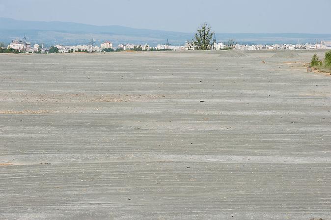 Blick über den Iazul Central auf Baia Mare / Overlooking Iazul Central and Baia Mare