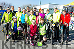 Enjoying the The Fenit Coastal Cycle in aid of St. Brendan's National School on Saturday were the CROTTA LEISURE CYCLISTS