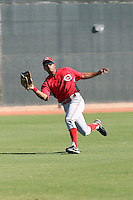 Juan Silva - Cincinnati Reds, 2009 Instructional League.Photo by:  Bill Mitchell/Four Seam Images..