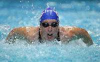 PICTURE BY VAUGHN RIDLEY/SWPIX.COM - Swimming - ASA Masters and Senior Age Group Championships 2012 - Ponds Forge, Sheffield, England - 27/10/12 - Alison Nye competes in the Women's 50m Butterfly.