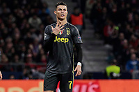 Juventus' Cristiano Ronaldo during UEFA Champions League match, Round of 16, 1st leg between Atletico de Madrid and Juventus at Wanda Metropolitano Stadium in Madrid, Spain. February 20, 2019. (Insidefoto/ALTERPHOTOS/A. Perez Meca)<br /> ITALY ONLY