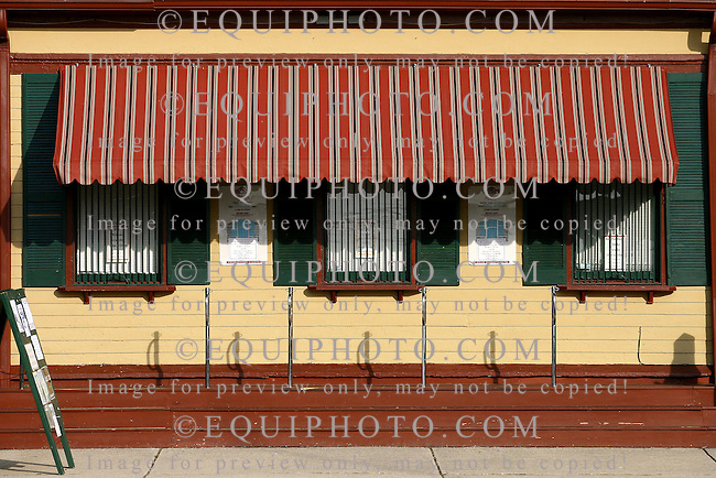 Ticket windows at the Great Auditorium in  Historic Ocean Grove,  New Jersey. Photo By Bill Denver/EQUI-PHOTO