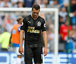 Dejected Javi Manquillo of Newcastle United during the premier league match at the John Smith's Stadium, Huddersfield. Picture date 20th August 2017. Picture credit should read: Simon Bellis/Sportimage