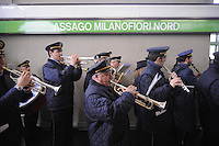 - Milan, ATM (Azienda Trasporti Milanesi), opening ceremony.of new MilanoFiori North station on Metro Line 2 ......- Milano, ATM (Azienda Trasporti Milanesi), inaugurazione della nuova stazione  MilanoFiori Nord sulla linea 2 della Metropolitana