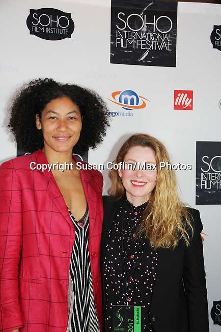 Naima Ramos-Chapman & Cady McClain -  Seeing is Believing: Women Direct at its East Coast Premiere at Soho International Film Festival on June 19, 2017 in New York City, New York.(Photos by Sue Coflin/Max Photos)