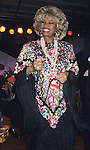 Celia Cruz picuted in New York City in March of 2000.