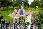 Jacek Tomaszewski, Guy Hulbert and Gretta O'Rourke from Tralee Community Garden who are planting trees Planting trees for people who have links to Kerry.