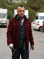 "COPY BY TOM BEDFORD<br /> Pictured: Paul Black arrives at Aberdare Coroner's Court, Wales, UK. Wednesday 04 October 2017<br /> Re: Inquest to be held at Aberdare Coroner's Court, into the death of Pearl Black, a toddler who died after a parked Range Rover's brakes failed and it hit a garden wall which fell on top of her in Merthyr Tydfil.<br /> One year old Pearl Melody Black and her eight-month-old brother were taken to hospital after the incident in south Wales.<br /> Pearl's family, father Paul who is The Voice contestant and mum Gemma have said she was ""as bright as the stars""."
