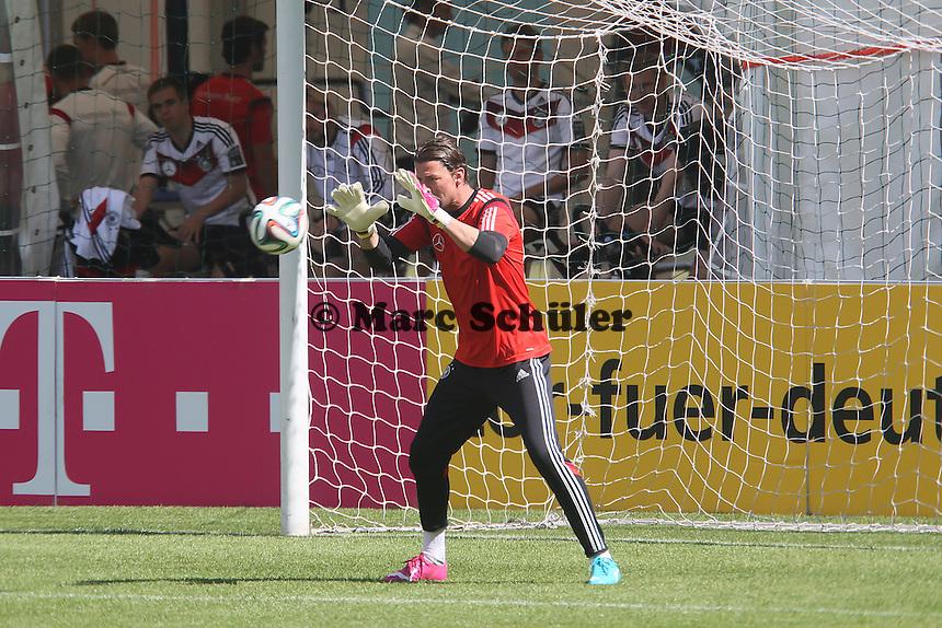 Roman Weidenfeller - Abschlusstraining der Deutschen Nationalmannschaft gegen die U20 im Rahmen der WM-Vorbereitung in St. Martin