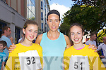 Pictured at the Enable Ireland 5k run at the Brandon on Saturday, from left: Chelsea Flannery, Jackie Ruttledge, Kelly Ruttledge, from Tralee