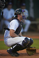 Northwestern Wildcats catcher Jack Claeys (44) during a game against the Saint Leo Lions on March 4, 2016 at North Charlotte Regional Park in Port Charlotte, Florida.  Saint Leo defeated Northwestern 5-3.  (Mike Janes/Four Seam Images)